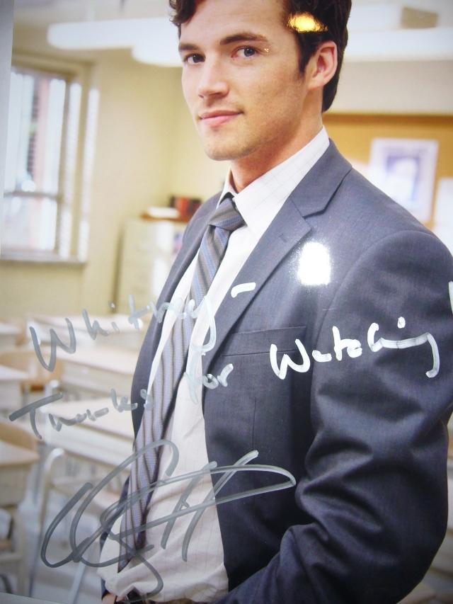 Ian Harding Autograph