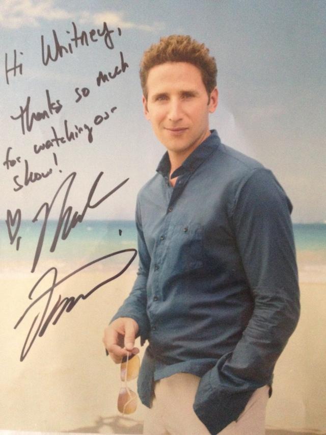 Mark Feuerstein Autograph